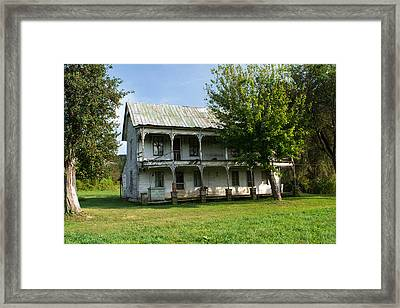The Old Home Place 1 Framed Print by Douglas Barnett