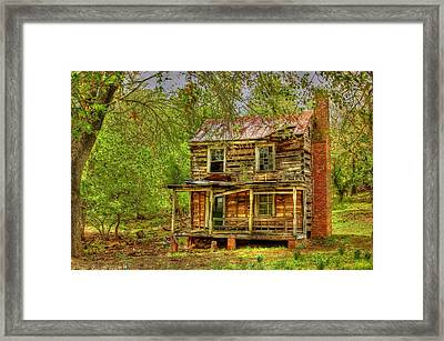 The Old Home Place Framed Print by Dan Stone