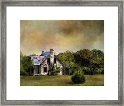 The Old Home Place Framed Print by David and Carol Kelly