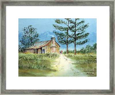The Old Homestead Framed Print by Bill Holkham