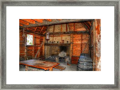 The Old Homestead Framed Print by Kathy Baccari