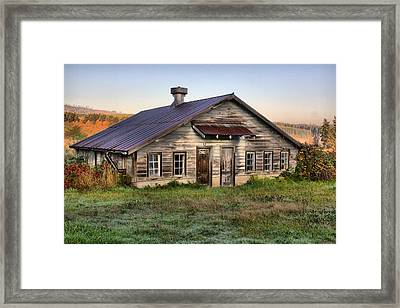 The Old Homestead Framed Print by Melody Madsen