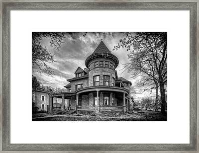 The Old House 2 Framed Print