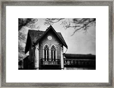 The Old House Framed Print