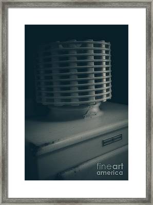 The Old Ice Box Framed Print