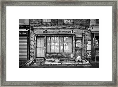The Old Jewellers Framed Print