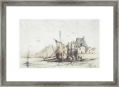 The Old Le Pollet Framed Print