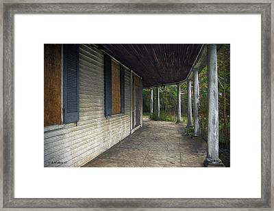 The Old Lowman House Framed Print by Brian Wallace