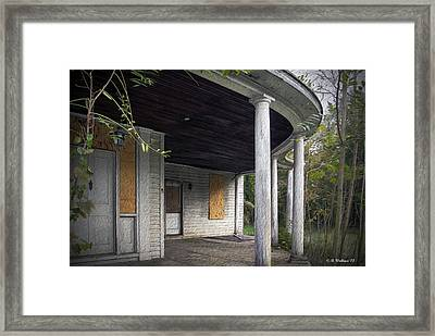 The Old Lowman Place Framed Print by Brian Wallace