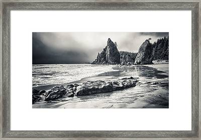 The Old Man And The Sea Framed Print