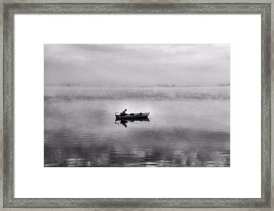 The Old Man And The Sea Framed Print by Dan Sproul
