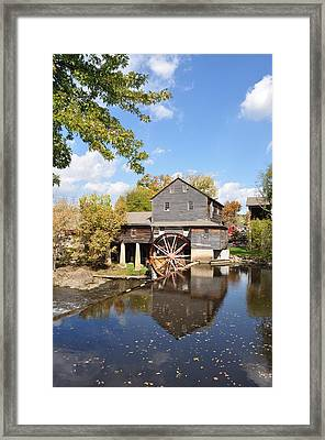 The Old Mill - Lazy Summer Day Framed Print by John Saunders