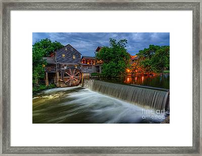 The Old Mill Framed Print by Anthony Heflin