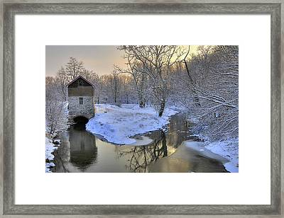 Framed Print featuring the photograph The Old Mill by Dan Myers