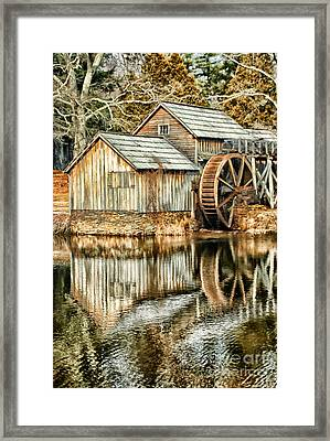 The Old Mill Framed Print by Darren Fisher