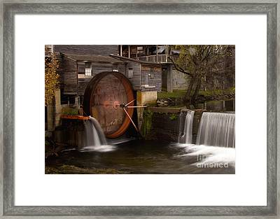 The Old Mill Detail Framed Print