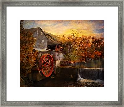 The Old Mill Framed Print by Jai Johnson