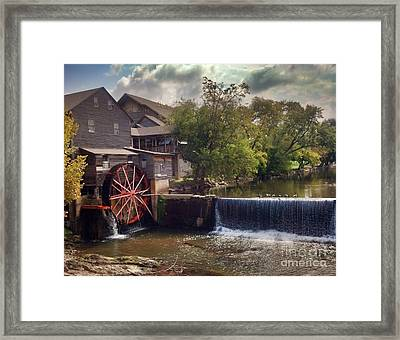 The Old Mill Framed Print by Janice Spivey