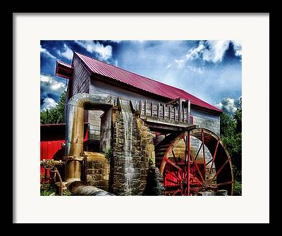 Old Mill Of Guilford Framed Prints