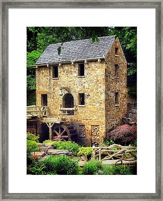 The Old Mill - Pugh's Mill 1832 Framed Print