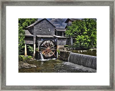 The Old Mill Restaurant Framed Print