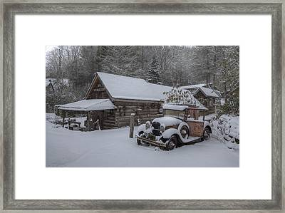 The Old Mill Store Framed Print by Stephen Gray