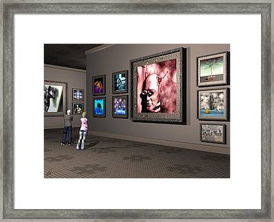 Framed Print featuring the digital art The Old Museum by John Alexander