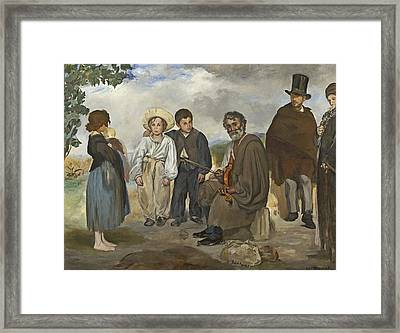 The Old Musician Framed Print