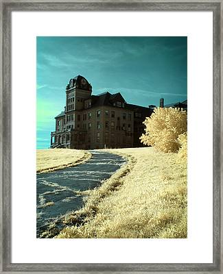 The Old Odd Fellows Home Color Framed Print by Luke Moore