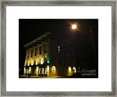 The Old Opera House Framed Print