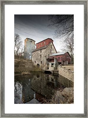The Old Oxford Mill Framed Print