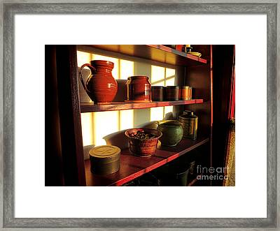 The Old Pantry Framed Print by Olivier Le Queinec