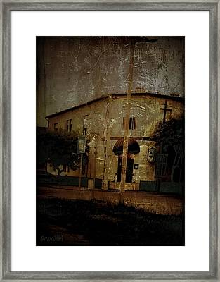 The Old Pharmacy Framed Print by Mimulux patricia no No