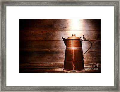 The Old Pitcher Framed Print