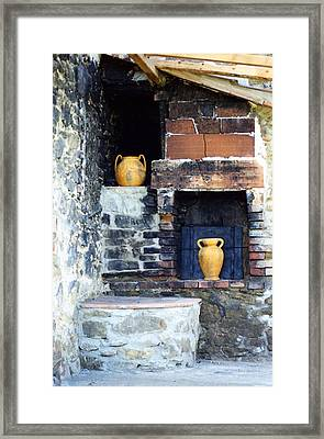 The Old Pizza Oven Framed Print