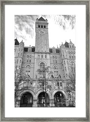 The Old Post Office  Framed Print by Olivier Le Queinec