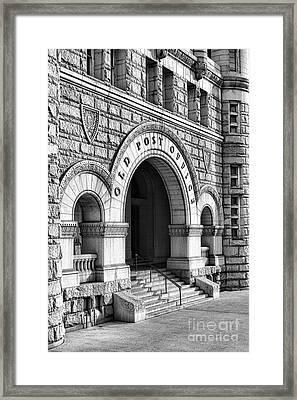 The Old Post Office Pavilion  Framed Print