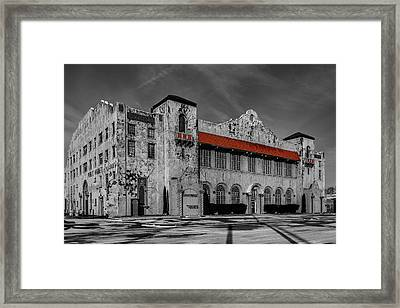 The Old Public Market Framed Print