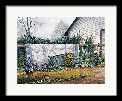 Sheds Paintings Framed Prints