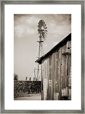 The Old Ranch Framed Print