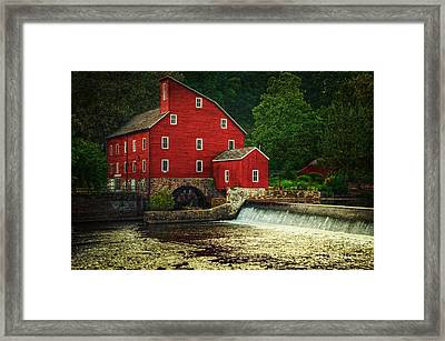 The Old Red Mill Framed Print