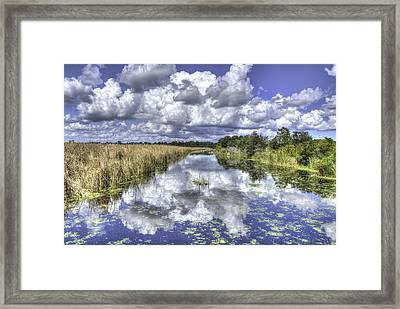 The Old Rice Fields Framed Print