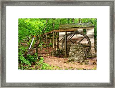 The Old Rice Mill Framed Print