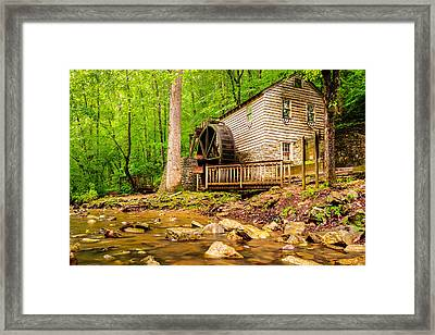 The Old Rice Mill In Tennessee Framed Print