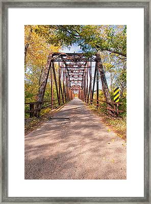 The Old River Bridge Framed Print