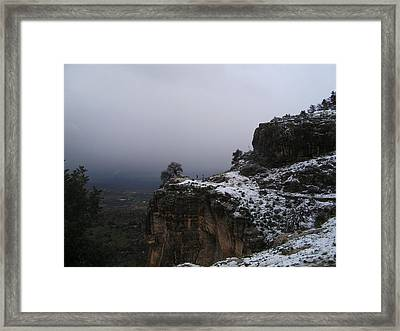 The Old Rock  Framed Print
