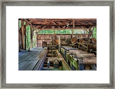 The Old Sawmill Framed Print