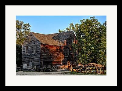 Sawmill Framed Prints