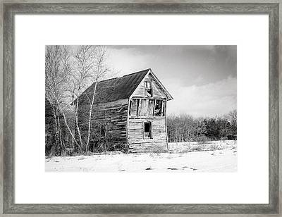The Old Shack Framed Print by Gary Heller