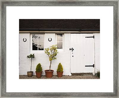 The Old Shed Framed Print by Louise Heusinkveld